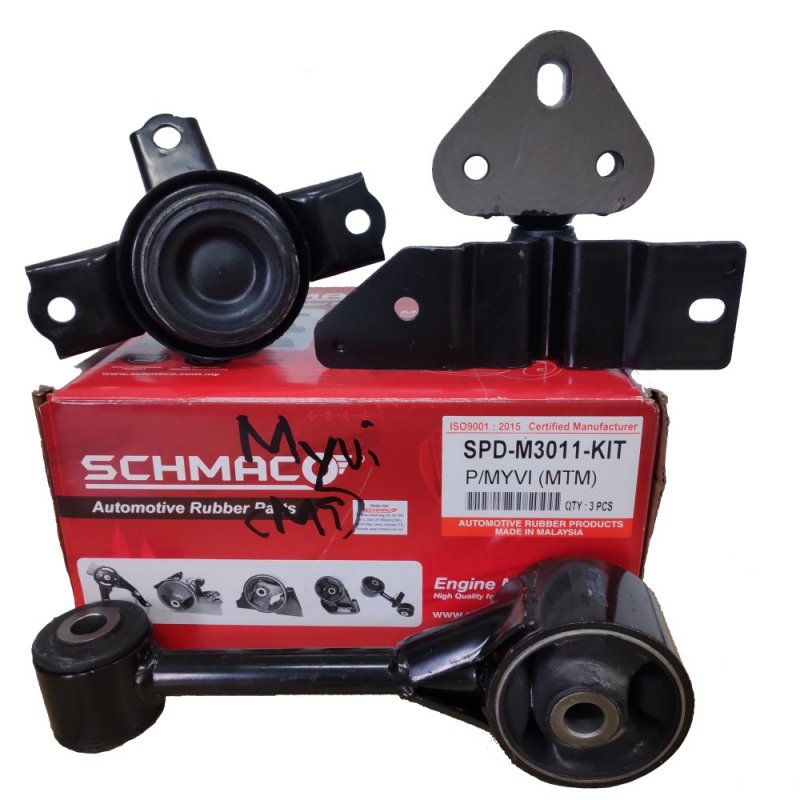 Schmaco Engine Mounting Kit for Perodua Myvi Manual (3Pcs