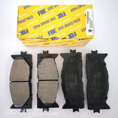 FBK Front Brake Pads for Toyota Camry ACV40 '08, 1 Set (Ref Part No: FD2841S)