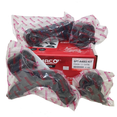 Schmaco Engine Mounting Kit for Proton Saga 1.3 / 1.5 Auto (4Pcs in 1 Kit)