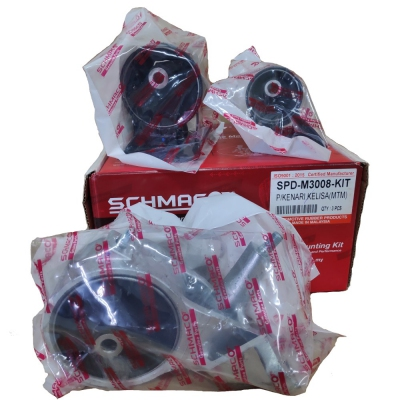 Schmaco Engine Mounting Kit for Perodua Kenari / Kelisa Manual (3Pcs in 1 Kit)