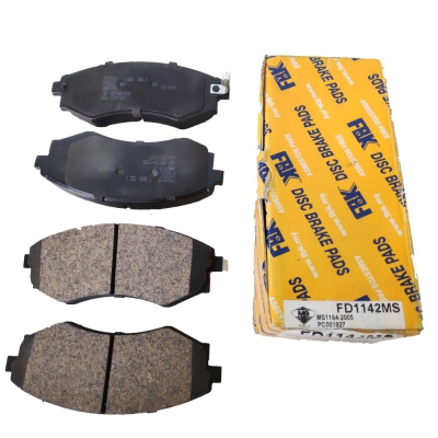 FBK Front Brake Pads for Nissan Sentra N16 1.8 / Serena C23 / Hyundai Matrix / Elantra (Old Model), 1 Set (Ref Part No: FD1142MS)
