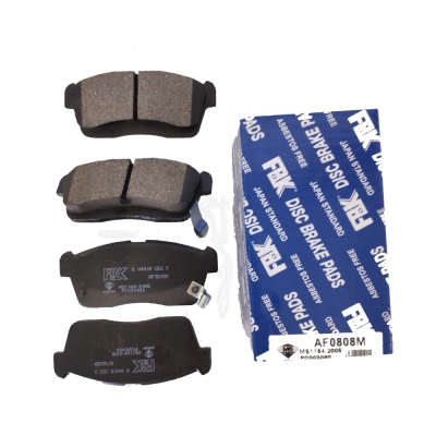 FBK Front Brake Pad for Perodua Myvi 1.0/1.3 (1st Gen), 1 Set. (Ref Part No: AF0808M)