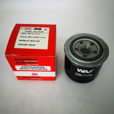 Wax Fuel Filter for Hino W04D (Ref Part No: 23401-1114)