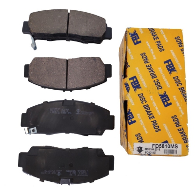 FBK Front Brake Pads for Honda Civic SNA / Accord SDA. 1 Set. (Ref Part No: FD5810MS)
