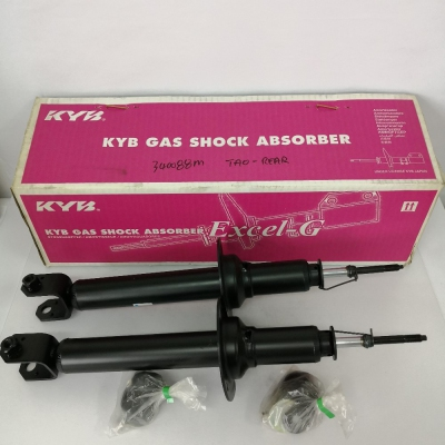 KYB Excel-G Rear Gas Shock Absorber for Honda Accord Tao '09, 1 Pair - Rear Left & Right (P/N: 340088M)