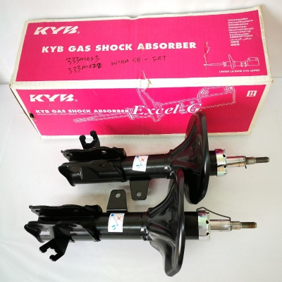 KYB Excel-G Front Gas Shock Absorbers for Proton Wira SE. 1 Pair - FLH & FRH. (P/N: 333M022 - Front RH, 333M023 - Front LH)
