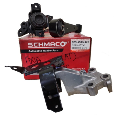Schmaco Engine Mounting Kit for Perodua Axia Auto (3Pcs in 1 Kit)
