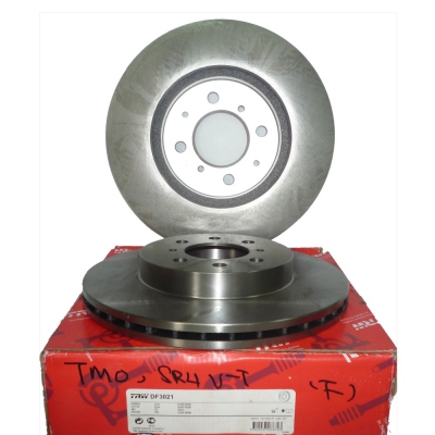 TRW Front Brake Discs for Honda City TMO/T9A, Civic SR4 VTEC. 2pcs. (Ref Part No: DF3021)