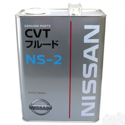 Nissan CVT Automatic Transmission Fluid NS-2 4 Liters