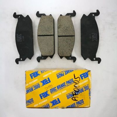 FBK Front Brake Pads for Daihatsu Charade G11, 1 Set. (Ref Part No: AF0005)