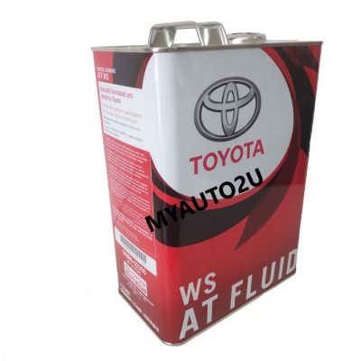 Toyota Automatic Transmission Fluid WS 4 Liters