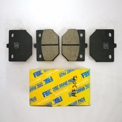 FBK Front Brake Pads for Daihatsu Charade G10. 1 Set. (Ref Part No: AF2012)