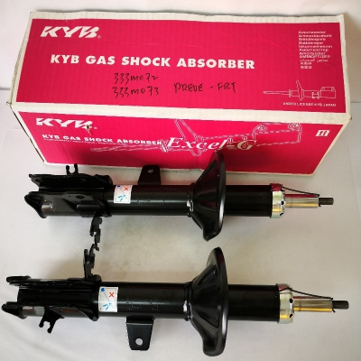 KYB Excel-G Front Gas Shock Absorbers for Proton Preve / Suprima S. 1 Pair - FLH & FRH. (P/N: 333M072 - Front RH, 333M073 - Front LH)