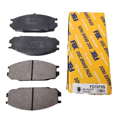 FBK Front Brake Pads for Nissan Vanette C22, 1 Set (Ref Part No: FD1070S)