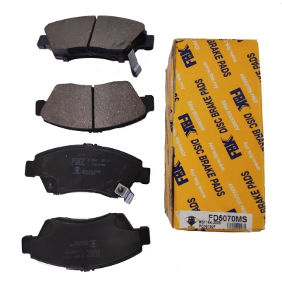 FBK Front Brake Pads for Honda Civic  VTEC SR4 / SO4 / S5A. 1 Set. (Ref Part No: FD5070MS)