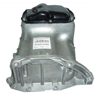 Oil Pan Sump Assy with Cover for Perodua Myvi 1.3. 1pc. (Ref Part No: A12101-97401)