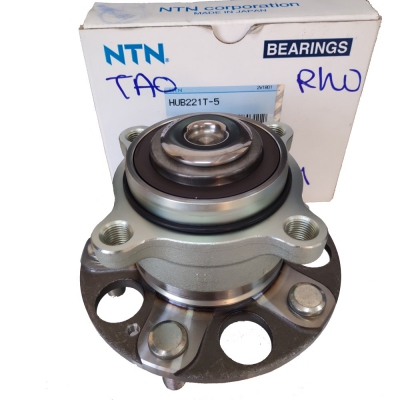 NTN Rear Wheel Hub & Bearing for Honda Accord TAO (NTN HUB221T-5)