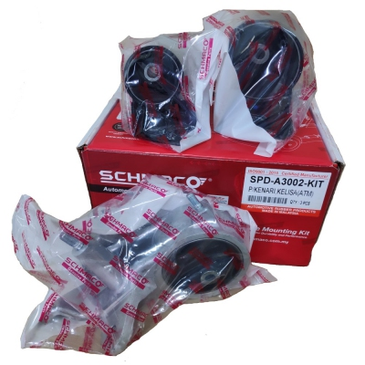 Schmaco Engine Mounting Kit for Perodua Kenari / Kelisa Auto (3Pcs in 1 Kit)