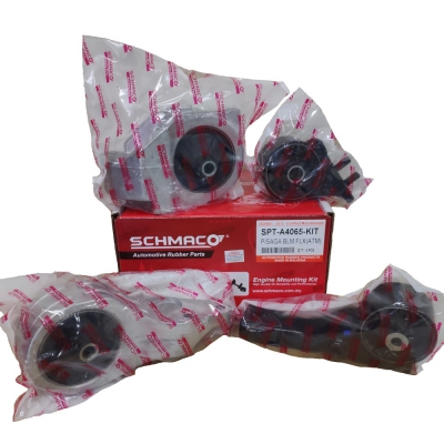 Schmaco Engine Mounting Kit for Proton Saga FLX Auto (4Pcs in 1 Kit)