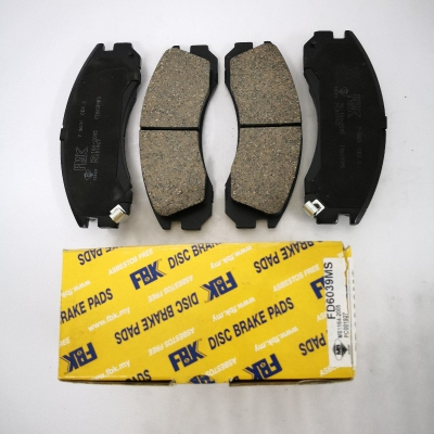 FBK Front Brake Pads for Mitsubishi Pajero V6, Galant VR4. 1 Set (Ref Part No: FD6039MS)