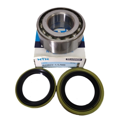 NTN Front Wheel Bearing with Front Wheel Oil Seal Kit for Proton Waja / Gen2 / Persona / Exora. 1 Set