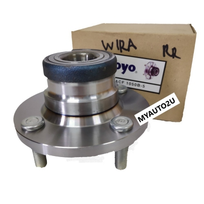 Koyo Rear Wheel Hub & Bearing for Proton Wira, Mitsubishi Lancer EVO3/EVO4 (Koyo DACF 1050B-5)