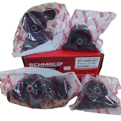 Schmaco Engine Mounting Kit for Proton Waja / Gen2 / Persona 1.6 Auto (4Pcs in 1 Kit)