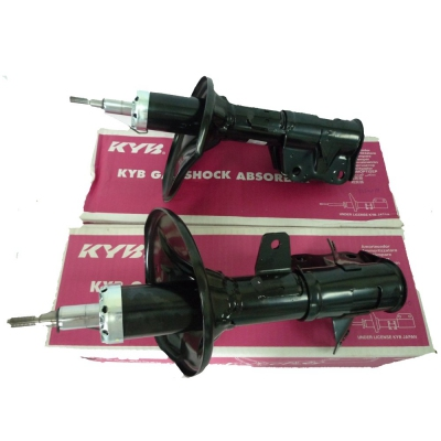 KYB Excel-G Front Gas Shock Absorbers for Proton Gen2. 1 Pair - FLH + FRH. (P/N: 333M019 - FLH, 333M020 - FRH)