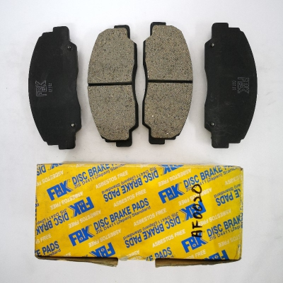 FBK Front Brake Pads for Daihatsu Feroza. 1 Set. (Ref Part No: AF0020)