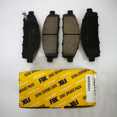 FBK Front Brake Pads for Mitsubishi Triton L200. 1 Set. (Ref Part No: FD6829MS)