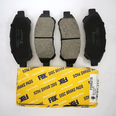 FBK Front Brake Pads for Daihatsu Gran Max. 1 Set (Ref Part No: FD0821S)