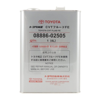 Toyota CVT Automatic Transmission Fluid FE 4 Liters