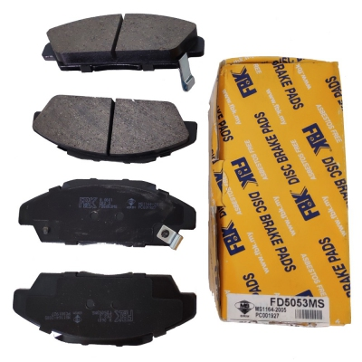 FBK Front Brake Pads for Honda CRV S10 / Accord SM4. 1 Set. (Ref Part No: FD5053MS)
