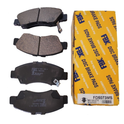 FBK Front Brake Pads for Honda Civic SR4 / SO4, City SEL. 1 Set. (Ref Part No: FD5073MS)
