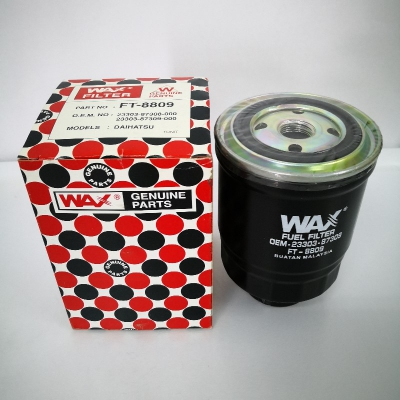 Wax Fuel Filter for Daihatsu Rocky '84-'88, Wildcat '85-'87 (Ref Part No: 23303-87308-000, 23303-87309-000)