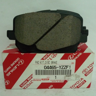 Toyota Front Brake Pads for Toyota Estima ACR30. 1 Set. (P/N: 04465-YZZF1)