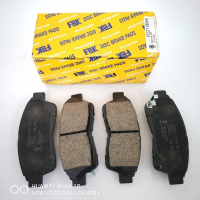 FBK Front Brake Pads for Toyota Camry SXV10, SXV20, 1 Set (Ref Part No: FD2118MS)
