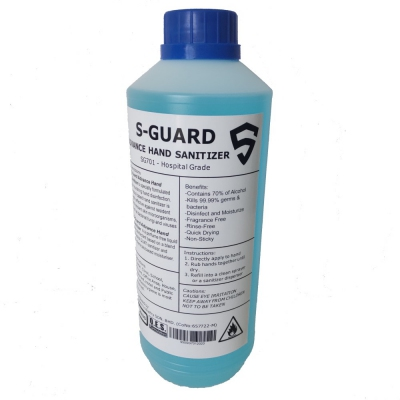 S-Guard Instant Hand Sanitizer. 1000ml
