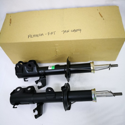 Tan Chong Front Shock Absorbers for Nissan Almera. 1 Pair - FLH + FRH (P/N: 54303-3BL0A - Front LH for 54302-3BL0A Front RH)