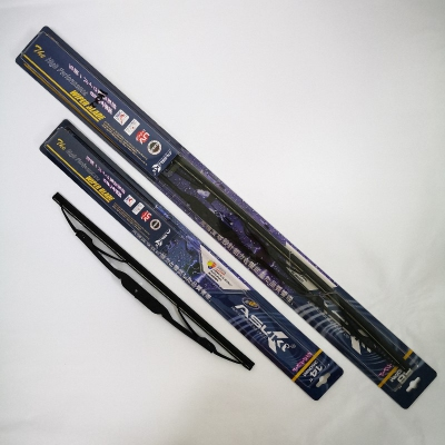 "Asuki High Performance Wiper Blade Set:  14"" (350mm) + 26"" (650mm). U Hook. Suitable for Nissan Serena 2.0 '01-; Toyota Wish '03-, Altis '08-; Honda Jazz '08-; Suzuki SX4 '06-."