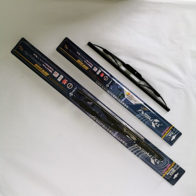 "Asuki High Performance Wiper Blade Set:  14"" (350mm) + 24"" (600mm). U Hook. Suitable for Honda Jazz 1.5 i-DSI/VTEC '03-, City i-DSI/VTEC '03-, Stream 2.0 i-VTEC '04-; Toyota Vios '07-, Yaris '06-;  Nissan Grand Livina '07-."