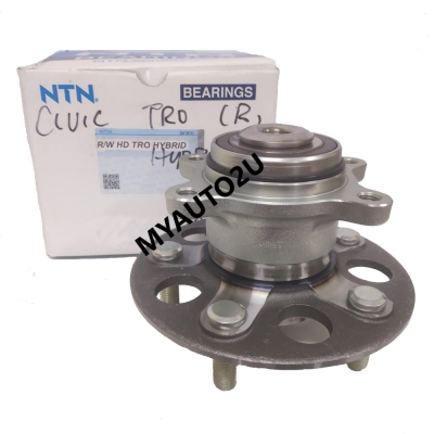 NTN Rear Wheel Hub & Bearing for Honda Civic TRO Hybrid
