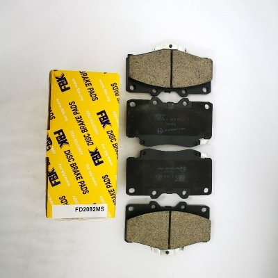 FBK Front Brake Pads for Toyota Prado, Hilux LN106. 1 Set. (Ref Part No: FD2082MS)