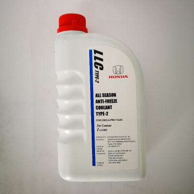 Honda All Season Anti-Freeze LLC Type-2 Coolant. (1 Litre)