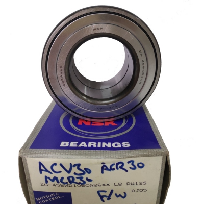 NSK Front Wheel Bearing for Toyota Camry ACV30 / ACV40, Estima ACR30 / MCR30. 1pc