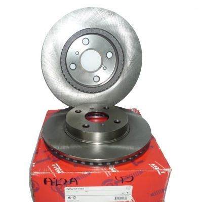 TRW Front Brake Discs for Perodua Alza. 2 pcs. (Ref Part No: DF7902)