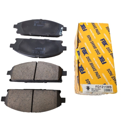 FBK Front Brake Pads for Nissan X-Trail T30 / Serena C24, 1 Set (Ref Part No: FD1211MS)
