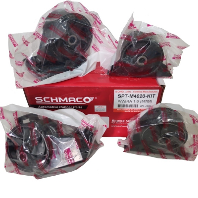 Schmaco Engine Mounting Kit for Proton Wira 1.6 Manual (4Pcs in 1 Kit)