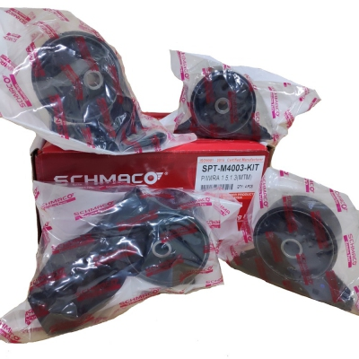 Schmaco Engine Mounting Kit for Proton Wira 1.3 / 1.5 Manual (4Pcs in 1 Kit)