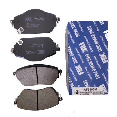 FBK Front Brake Pads for Proton Iriz / Persona 2018. 1 Set. (Ref Part No: AF6300M)